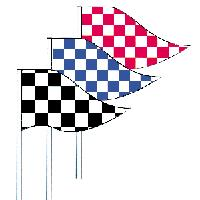 RT3 CHECKER ANTENNA FLAGS