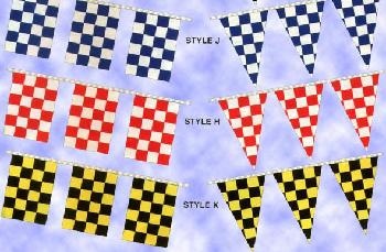 POLY CHECKER PENNANTS